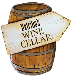 Wine Cellar sign  personalized
