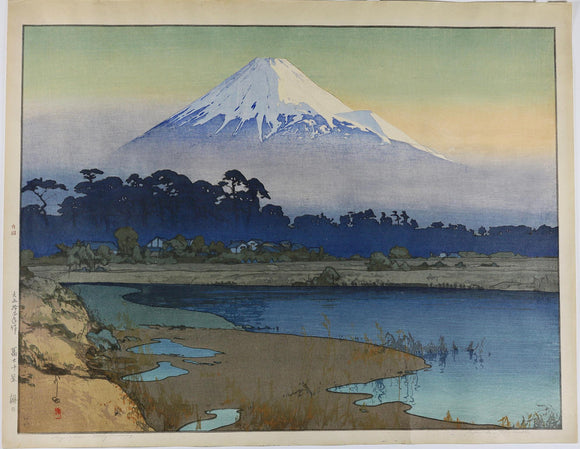 Yoshida: Fujiyama; First Light of the Sun