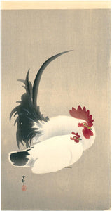 Ohara Kōson: Rooster and hen