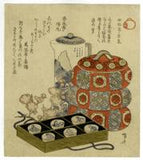 Shinsai: Surimono still life