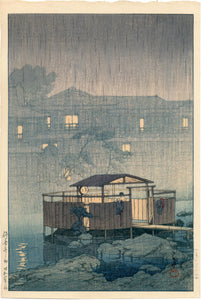 Hasui: Rain At Shuzenji
