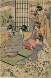Kitagawa Utamaro II: Courtesans Entertaining