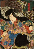 Kunisada: Jiraiya and Giant Eagle Diptych