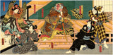 Kunisada: Actor with lobster robe
