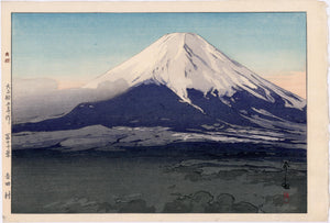 Yoshida: Yoshida Village from Ten Views of Fuji