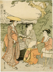 Hosoda Eishi: Rinsho, the month of June