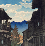 Hasui: Autumn in the Arayu Spa (RESERVED)