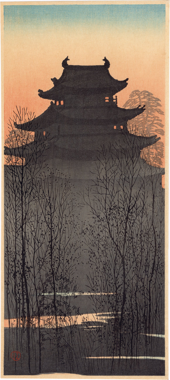 Konen: Japanese Castle at Dusk