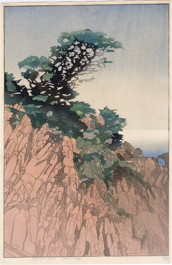 Bertha Lum: Point Lobos