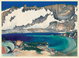 Obata: Lake Basin in the High Sierra (Sold)