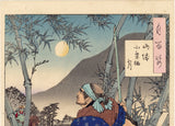 Yoshitoshi: The Moon of Ogurusu in Yamashiro 月百姿 山城小栗棲月