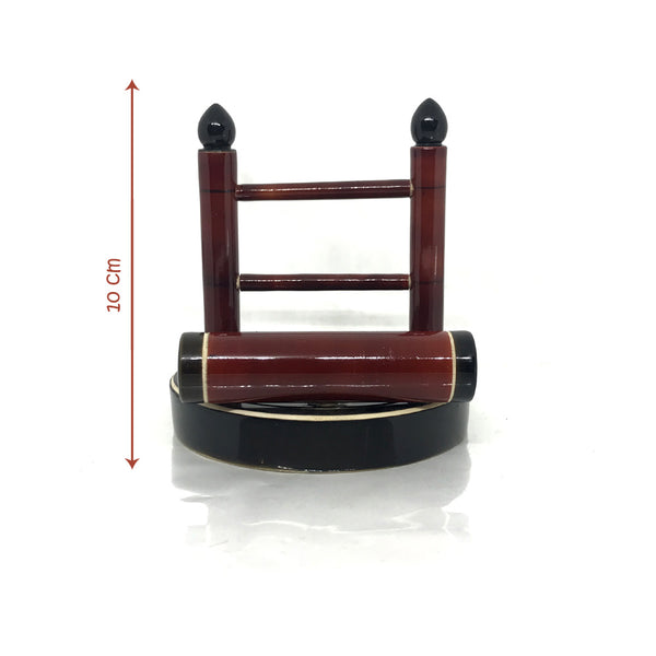 Etikoppaka Handicraft Wooden Mobile phone holder