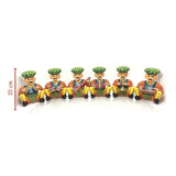 wooden toys sitting band