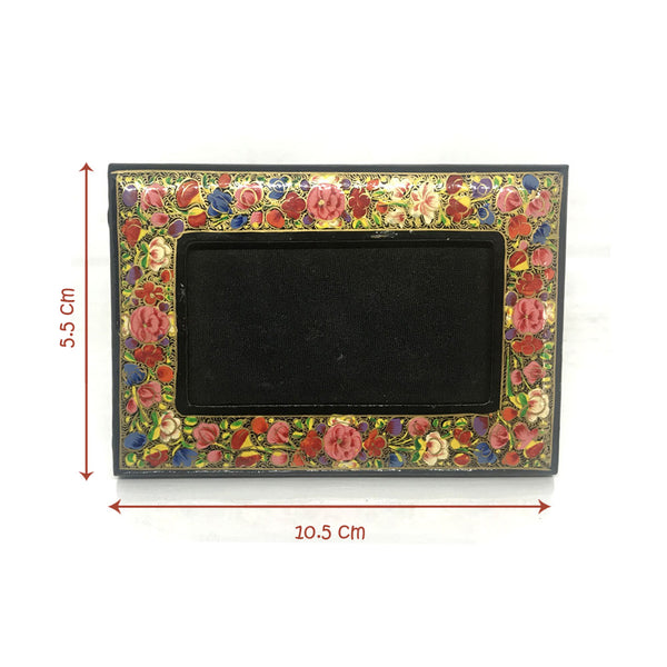 Kashmiri Art Hand-painted Photo frame - Papier Mache