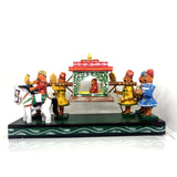 wooden toy bridal palanquin