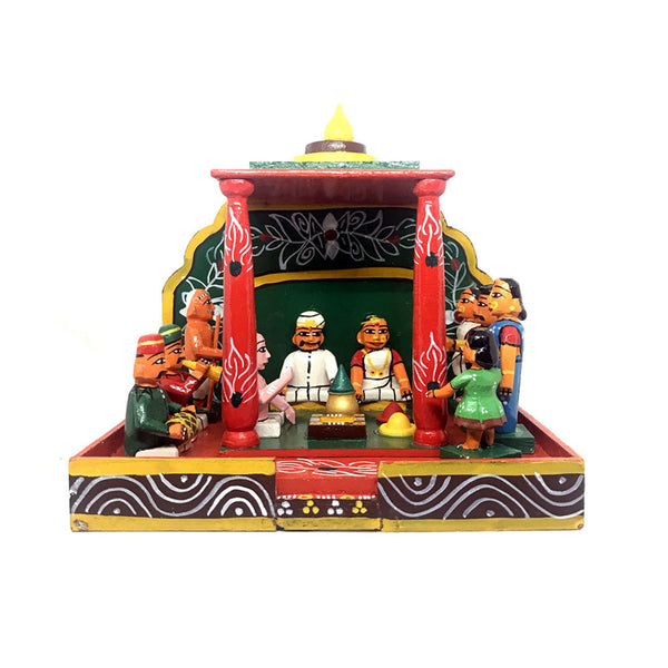 Marriage Set - Kondapalli toys