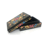 Jewellary box-black-handpainted