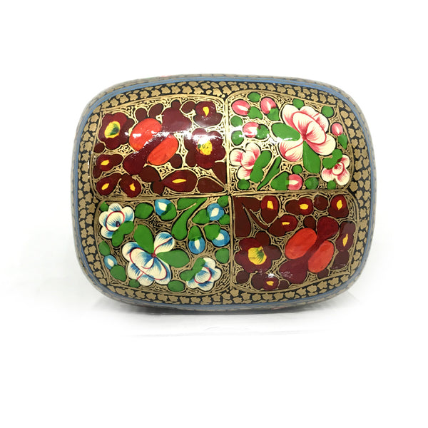 Jewellary Box - Papier Mache - Floral design