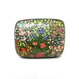 Jewellary Curved Box - Hand painted floral design
