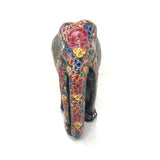 Elephant showpiece - Multi Color - Papier Mache handicraft