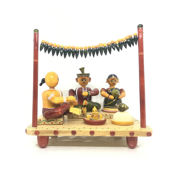 Traditional Hindu Marriage - Etikoppaka Handicraft