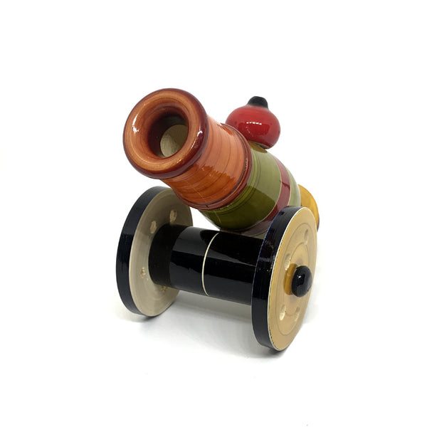 Wooden Toy Cannon - Artsytribe Handicraft