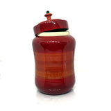 Big Wooden Jar with lid - Etikoppaka Handicraft
