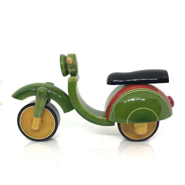 Wooden Toy Scooter for Kids - Etikoppaka Handicraft