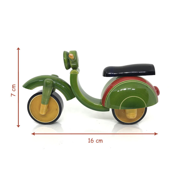 Wooden Toy Scooter - Etikoppaka Handicraft