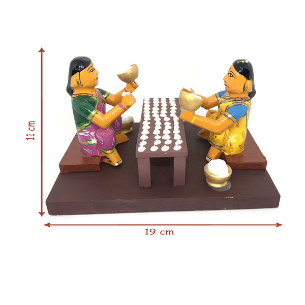 Vadiyalu(Sun dried crisps) making - Kondapalli Toys