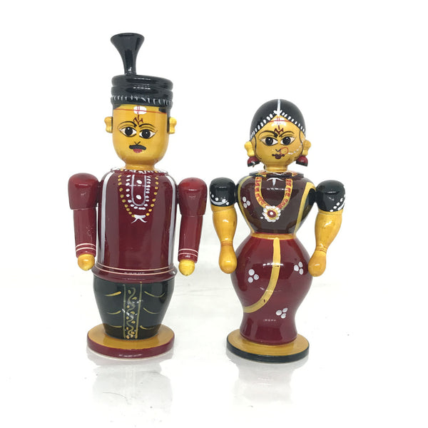 Traditional Indian Wedding Couple - Small Size