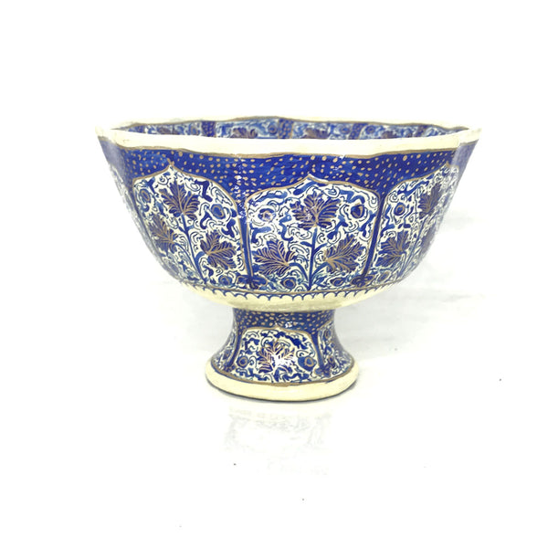 Small serving bowls - Blue Floral design - Set of 3