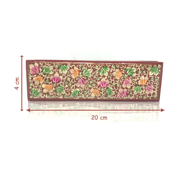 Long Jewellary Box - Floral design - Artsytribe