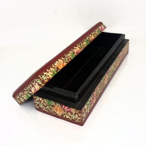 Long Jewellary Box - Floral design