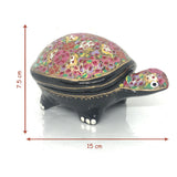 Jewellary Box - Turtle Shape - Papier Mache