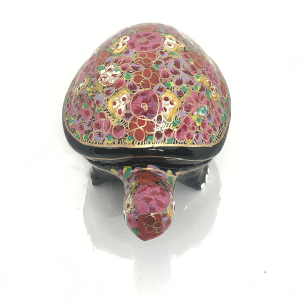 Jewellary Box - Turtle Shaped - Papier Mache