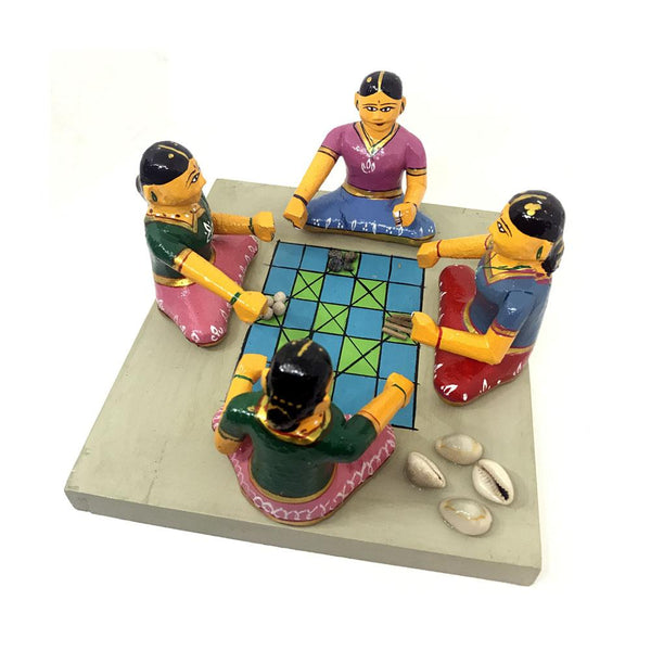 Kondapalli Toys - Ashta Chamma Aata - Village Board Game