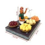 Vegetable Seller - Kondapalli Toys - Artsytribe Collection