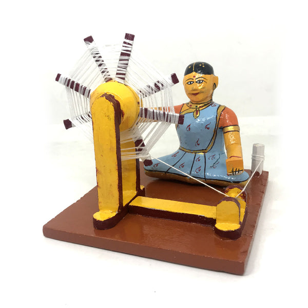 Village craftsman - Set of 6 - Kondapalli Bommalu