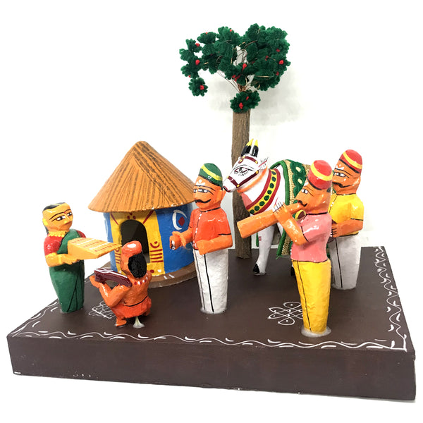 Sankranthi in village theme - Artsytribe Handicraft