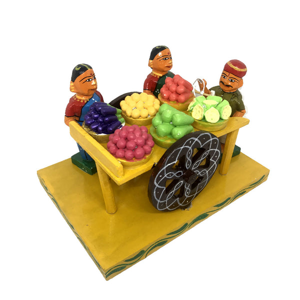 Street vendor handicraft from Kondapalli Toys