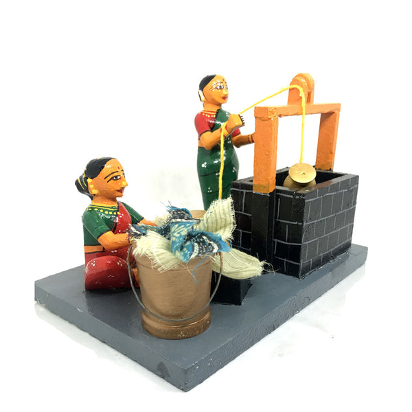 Water Well in Village - Kondapalli Toys