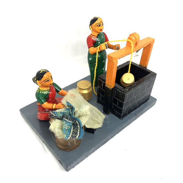 Water Well in Village Artsytribe Kondapalli Toys