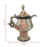 Samovar shaped Papier Mache artsytribe Handicraft decor
