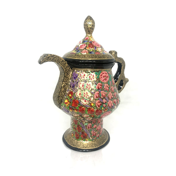 Samovar shaped Papier Mache artsytribe Handicraft