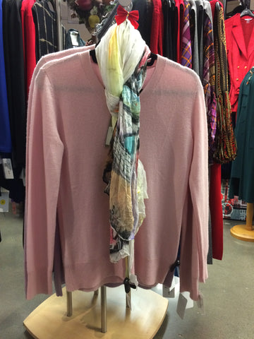Biline sweater in blush