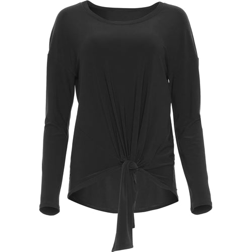 Joseph Ribkoff Long Sleeved Top - Style 203450, black, no model