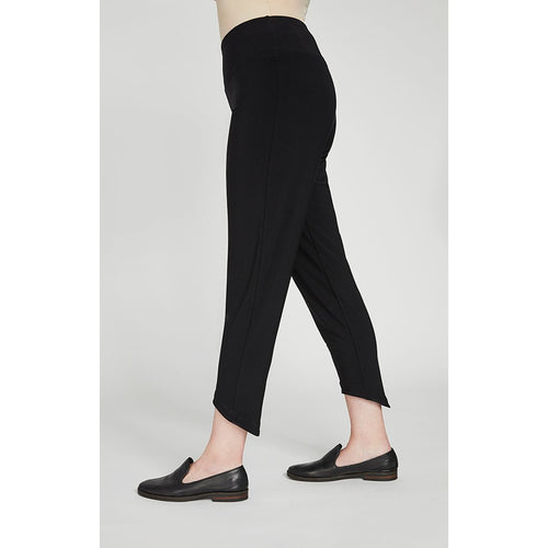 Sympli Drop Ankle Pant - Style 27105, side, black