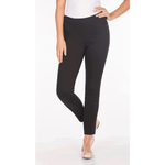 FDJ Pull-On Ankle Pant - Style 273906N, model, front, black