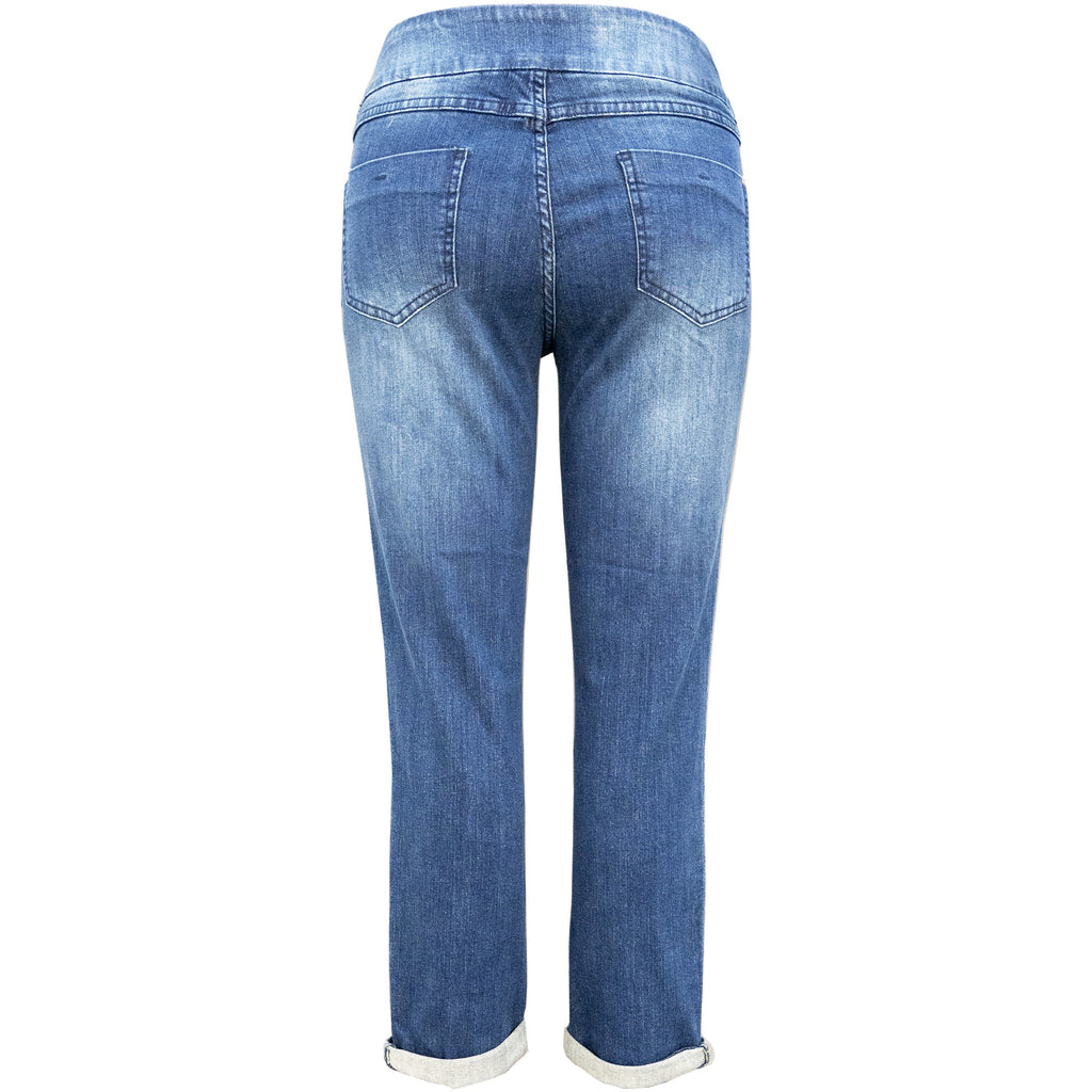 Up! Cropped Jean - Style 65759 back